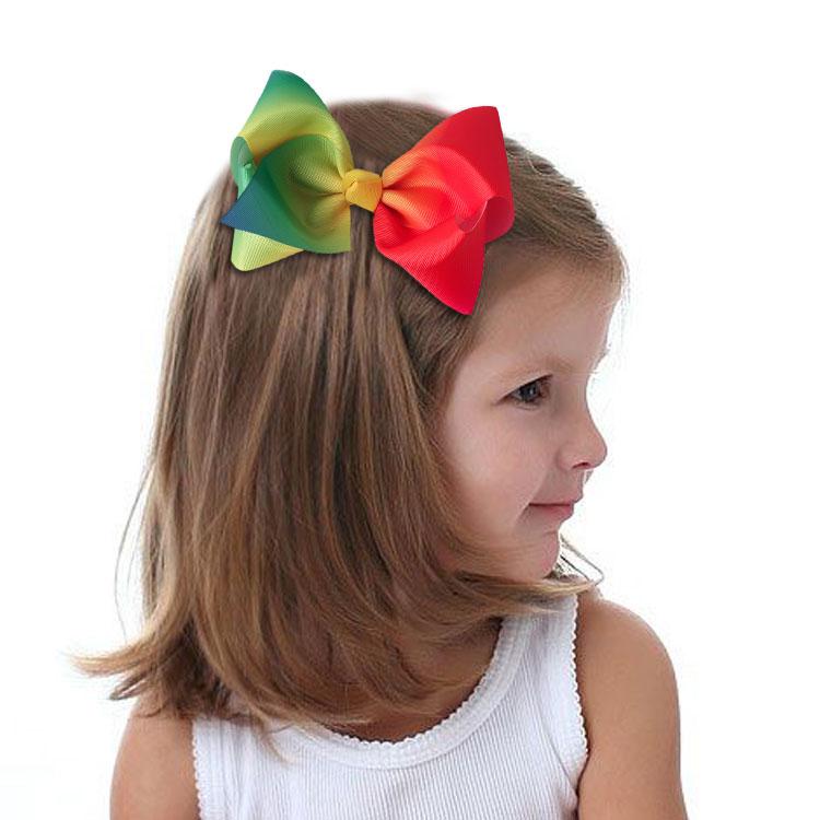 热销欧美罗纹带发饰发夹JOJO款式,交货快,质量好