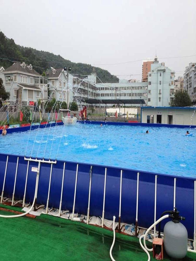 支架游泳池设计-实惠的室内游泳池就在盛宏体育设施