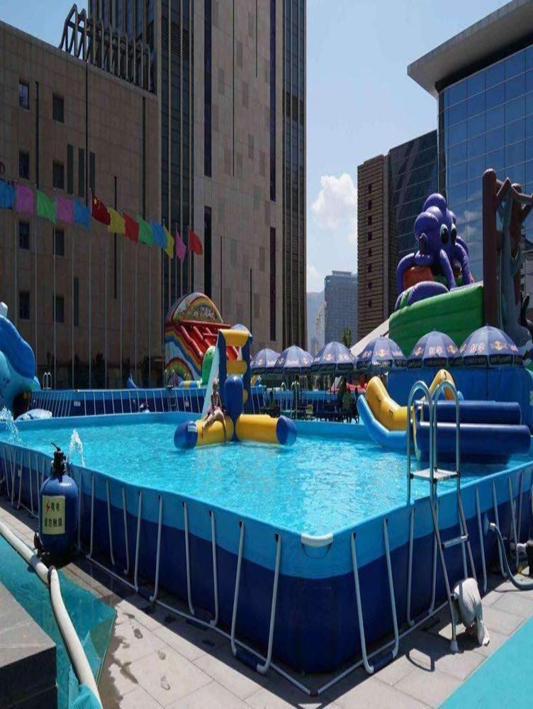 支架游泳池定制-选购室内游泳池认准盛宏体育设施