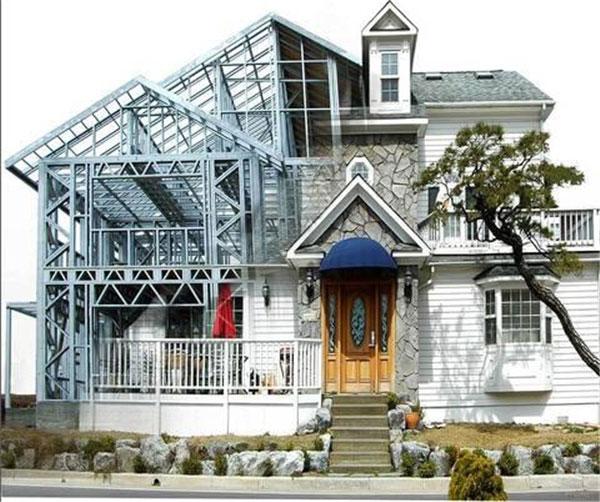 独栋别墅|在哪里能买到好用的郑州中原区轻钢别墅