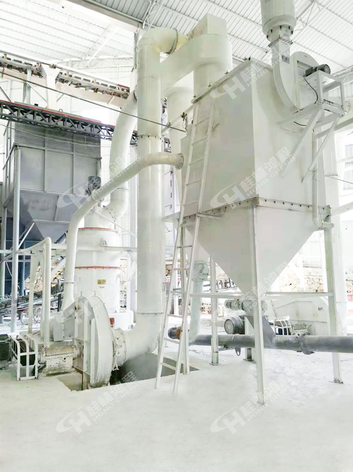 都安新型礦石粉碎機HCQ1290方解石325目雷蒙磨粉機