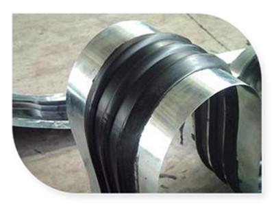 钢边橡胶止水带加工定做,方孔钢边橡胶止水带,橡胶止水带施工安装图解
