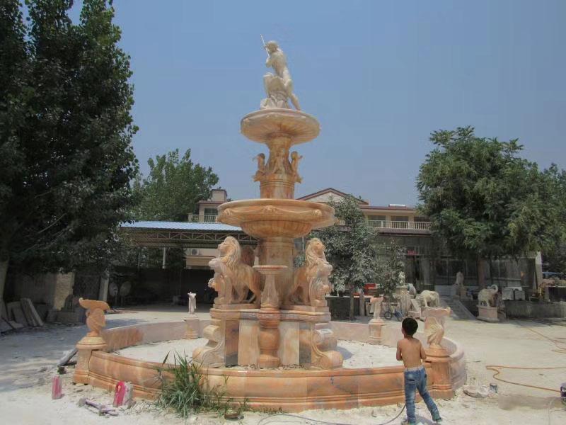 喷泉雕塑供应厂家-工艺精湛的保定推荐