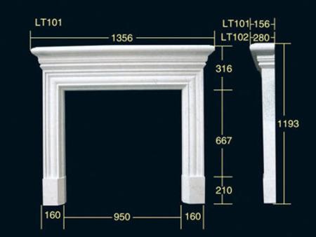 商洛装饰石膏线条品牌-具有口碑的商洛石膏线供应商当属晨光石膏线