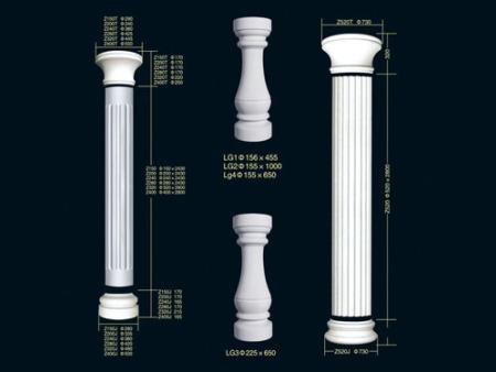 石膏装饰线条品牌-大量出售陕西好的商洛石膏线