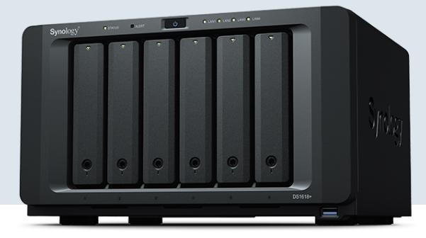NAS群晖存储服务器DS1618+6盘位企业云存储 山东代理