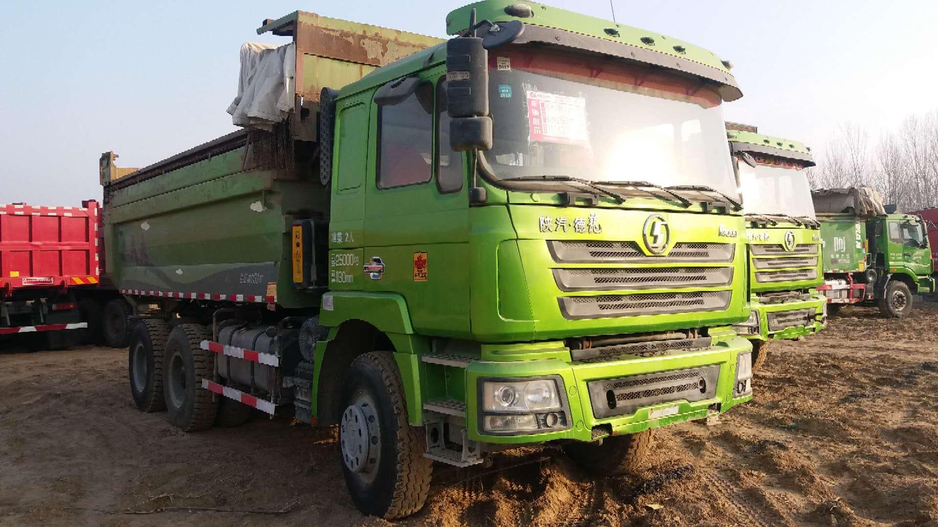 二手德龙前四后八环保渣土车-供应济宁性价比高的二手德龙自卸车