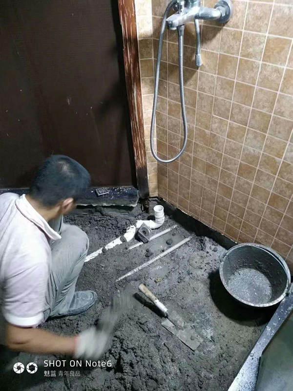 东莞卫生间漏水-裕洪教你一招解决卫生间防水问题