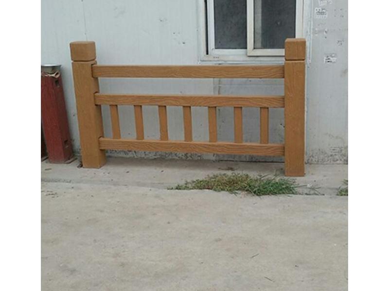 仿木栏杆定制-选购仿木栏杆认准地山秀美栏杆