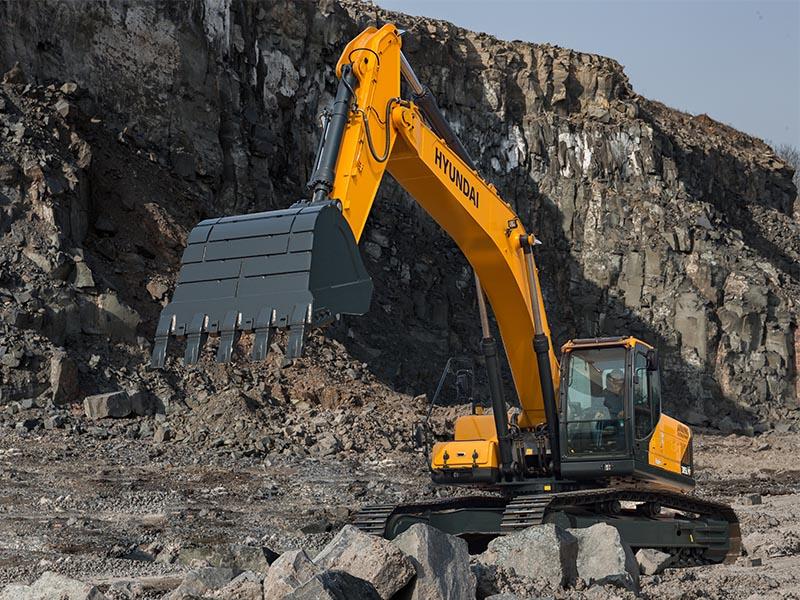 现代R305LVS挖掘机