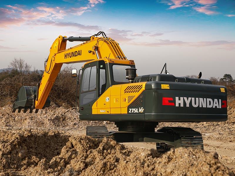 现代R275LVS挖掘机