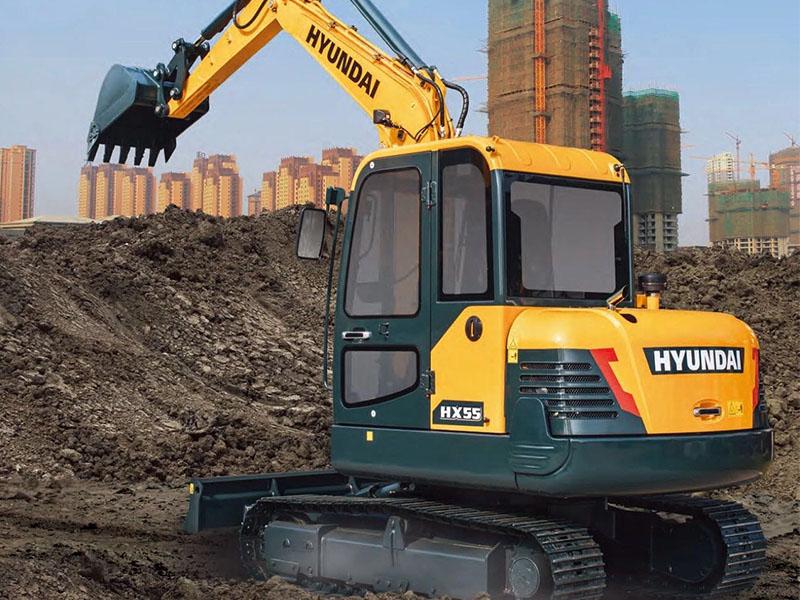 HX55挖掘机