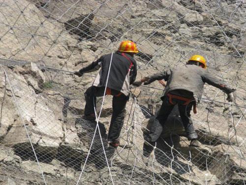 SNS柔性边坡防护主动网15131856266主动护坡防护网