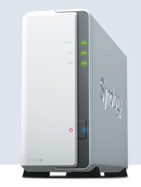 NAS群晖存储服务器DS119J 1盘位家用云存储 山东代理