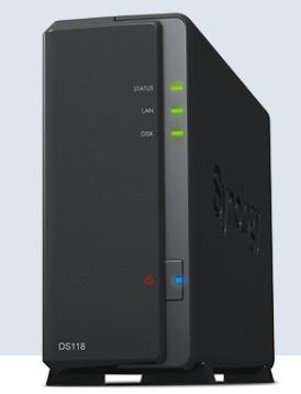 NAS群晖存储服务器DS118 济南群晖技术支持中心
