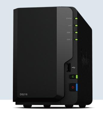 NAS群晖存储服务器DS218 2盘位家用云存储山东代理