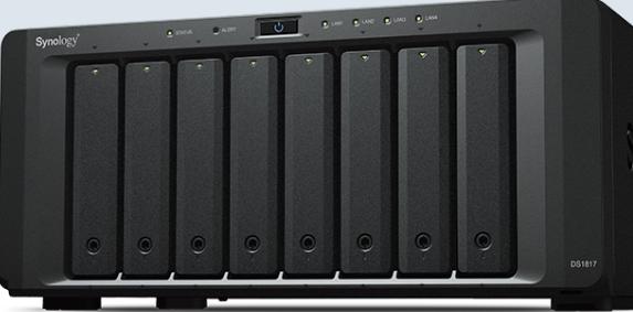 NAS群晖存储服务器DS1819+ 企业级云存储 山东代理