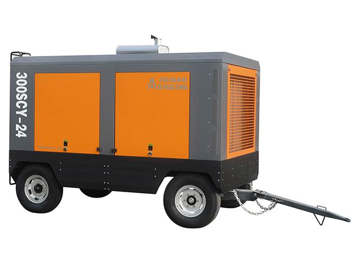 要买移动式空压机当选宁夏艾森斯机电设备 同心移动式空压机批发