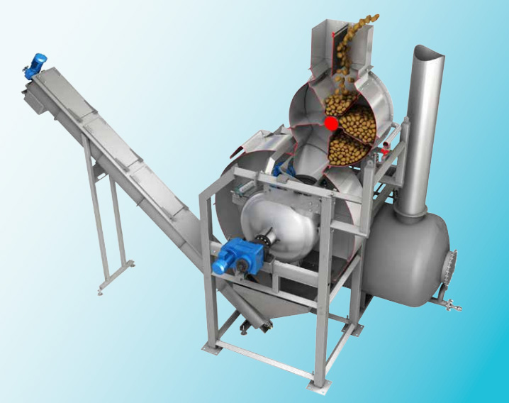 【海瑞機械】 水力薯片機 水力薯條機 水稻水力切條機