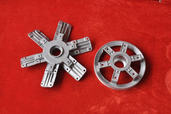 风机配件铝轮