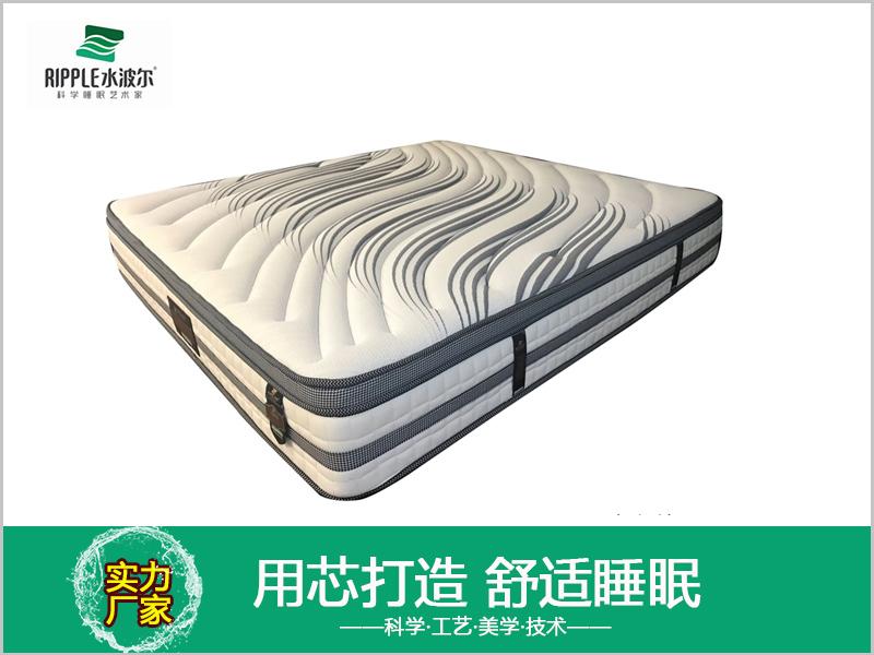 厂家直销乳胶床垫酒店弹簧床垫家庭床垫批发