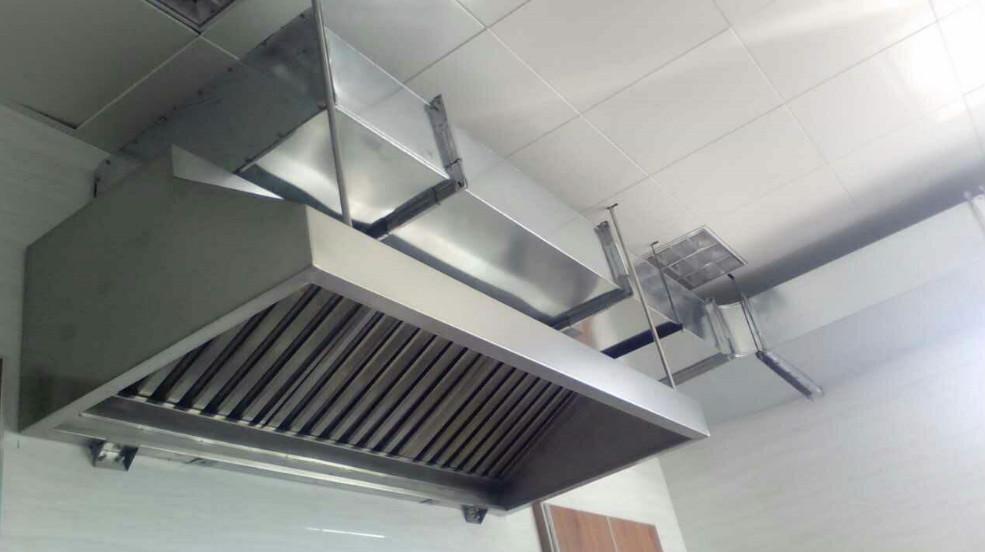 宁波油烟罩安装-不锈钢油烟罩-厨房排烟设备