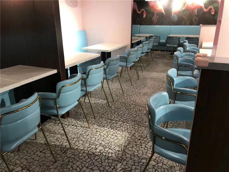 惠安泉州咖啡厅奶茶店甜品店酒吧休闲桌椅型号-可信赖的泉州奶茶店桌椅厂家在福建