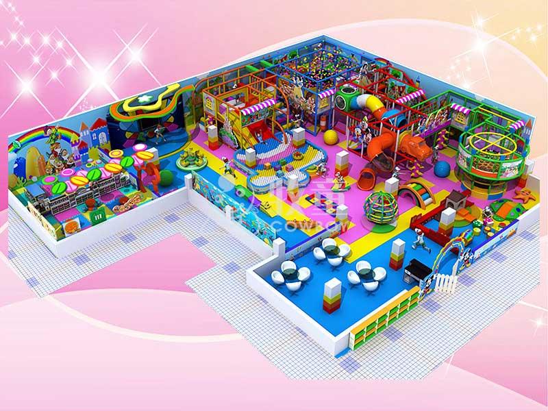 大型商场淘气堡-室内儿童乐园规划定制