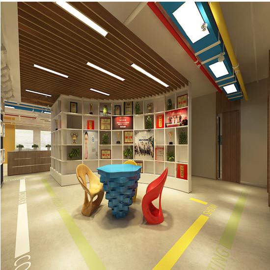 中业科技办公室设计 不想死板的办公室,借鉴郑州科技办公室装修