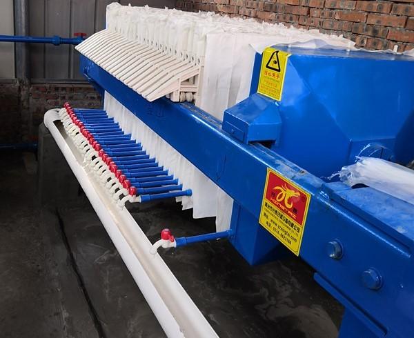 印染废水压滤机选兴泰板框压滤机