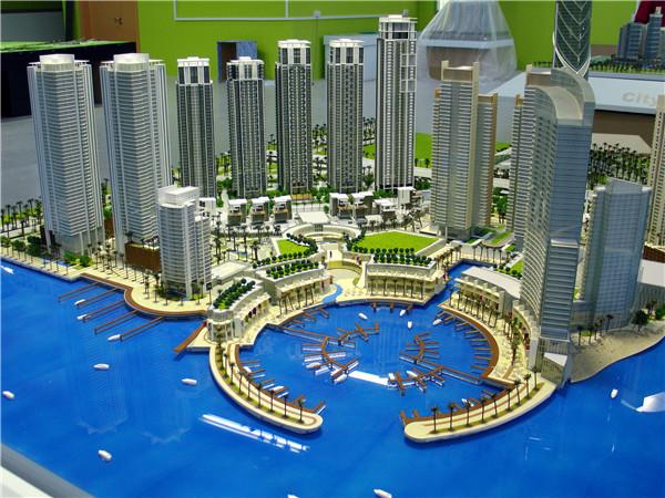 售楼模型制作哪家专业/售楼模型设计公司排名/怡景建筑模型设计