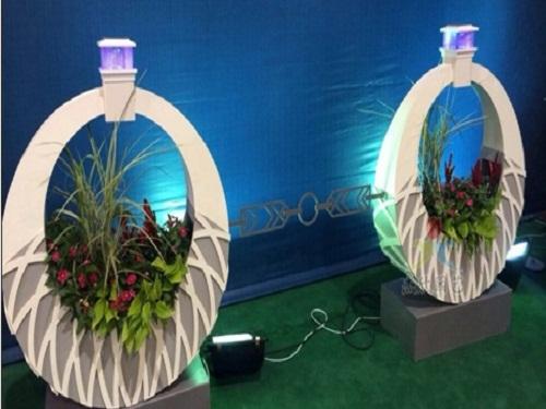 PVC花箱厂家_沈阳杰欣景观绿化工程质量好的PVC花箱出售