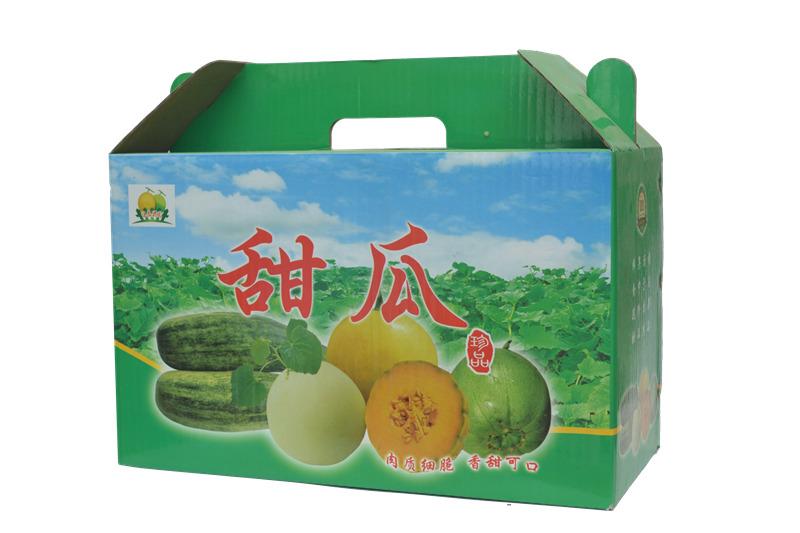 寿光甜瓜纸箱厂家_个性甜瓜礼盒订做