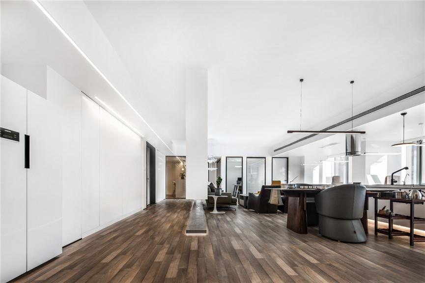 河南现代简约办公室装修设计效果图 现代简约办公室装修的特点