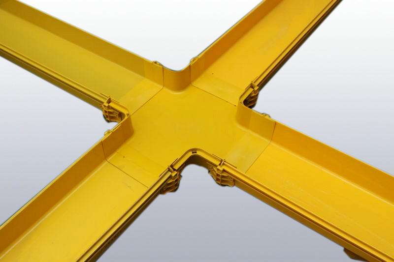 上海光纤槽道厂商,划算的ABS光纤槽道厂家直销