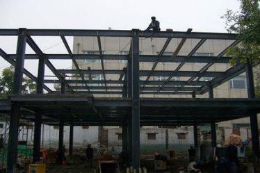 胶州钢结构二层定制-买专业的钢结构二层优选康乐铁艺钢结构