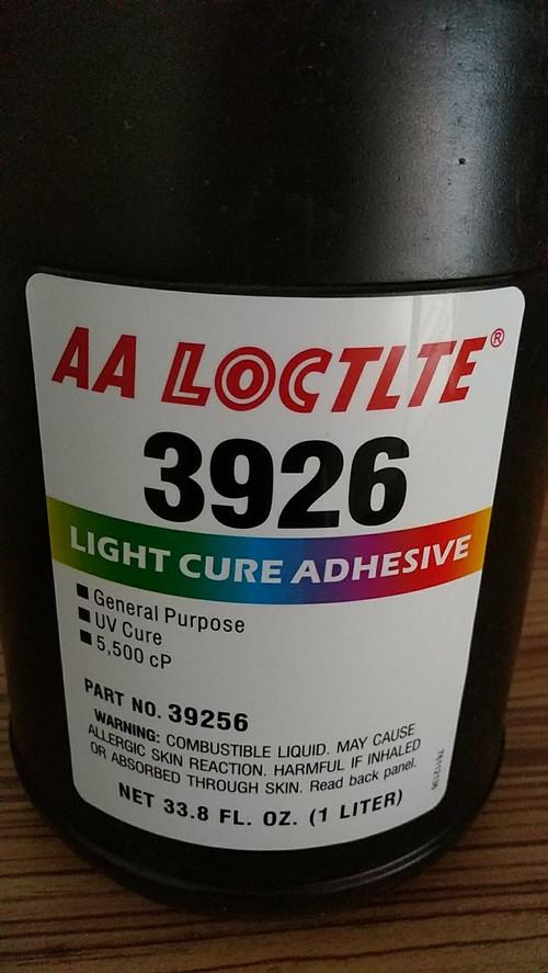 原装乐泰3926紫外线固化无影胶乐泰AA3926UV胶水