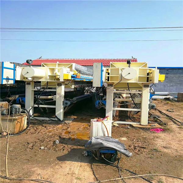 二手壓濾機交易價格|二手杭州初陽壓濾機