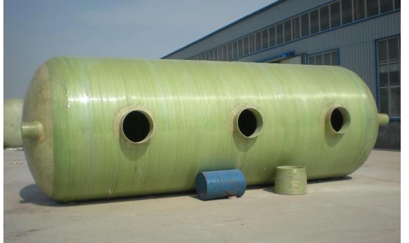 玻璃钢一体化缠绕大型化粪池厂家直销-大量供应口碑好的玻璃钢模压加厚化粪池