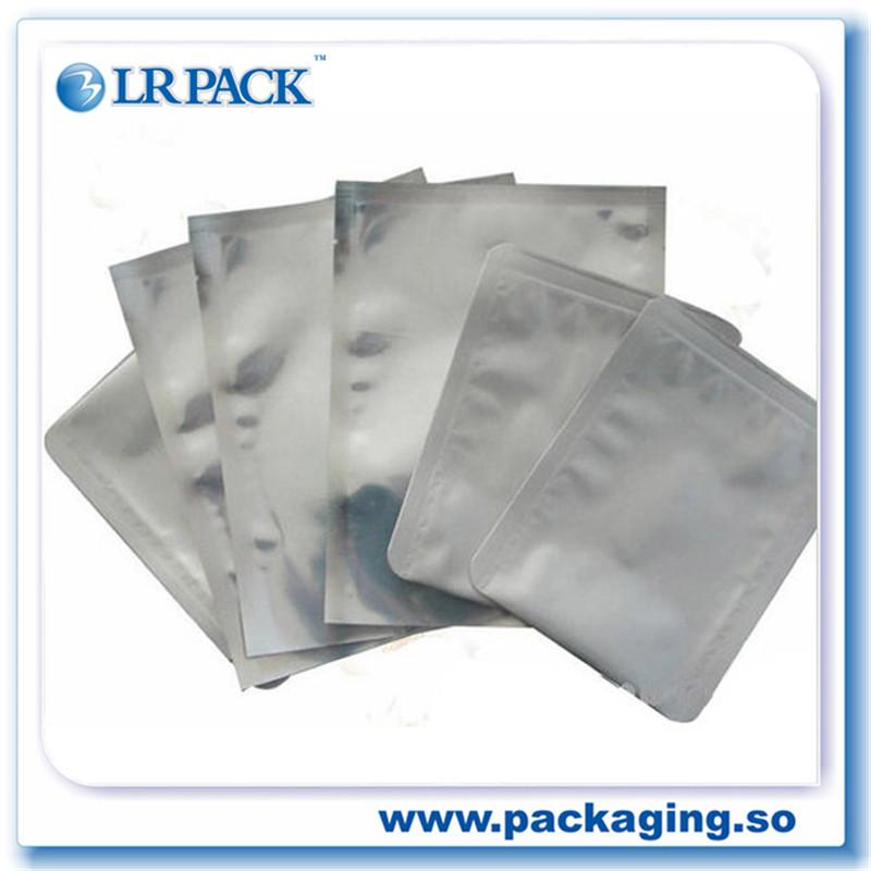 鋁塑袋廠家彩印鋁箔袋三邊封錫紙袋復合袋純鋁袋錫箔袋