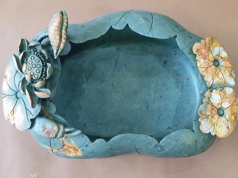 端硯石雕茶盤|為您推薦有品質的綠端硯茶盤