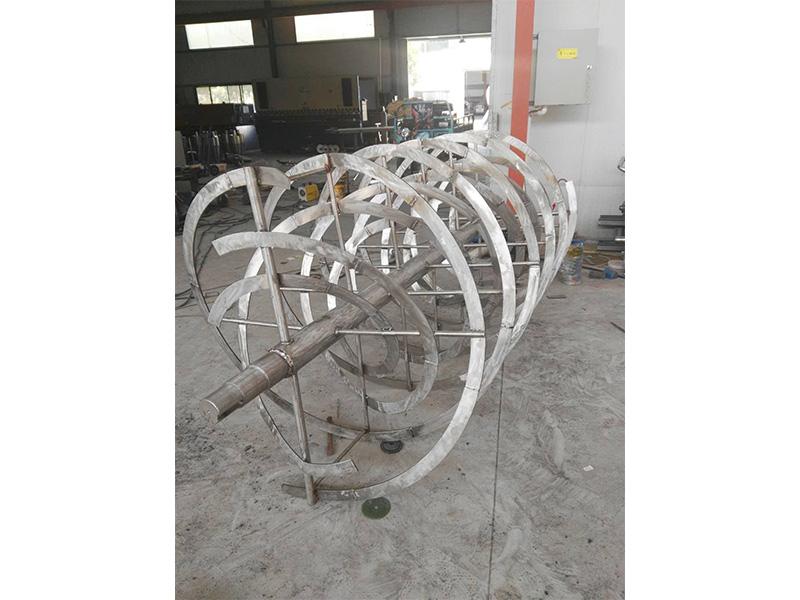 厂家直供无轴螺旋体叶片多少钱-想买优惠的无轴螺旋体叶片-就来盱眙佳禾