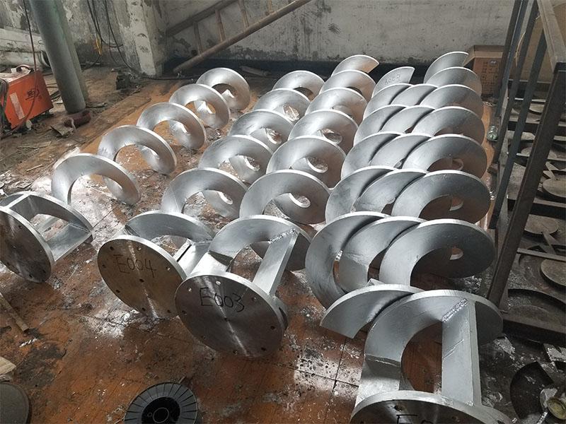 無軸螺旋體葉片批發廠家 哪里能買到優惠的無軸螺旋體葉片