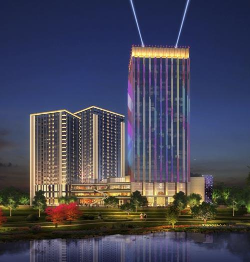 平凉楼宇亮化工程-众城能源照明工程供应具有口碑的兰州亮化工程