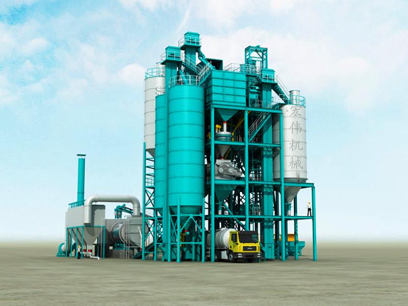 干混砂漿設備廠家《技術秀》干混砂漿設備型號//宏偉