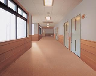 PVC地板生产厂_实惠的大连地面起砂治理