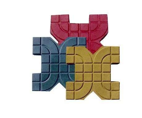 青海植草砖花园栏杆模具厂|选购兰州彩砖模具就找兰州兰泰模具