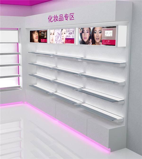 驻马店化妆品展柜价格-问鼎展柜_化妆品展柜美观精致
