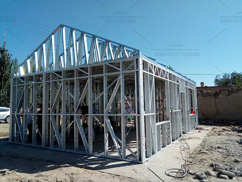 轻钢房屋框架