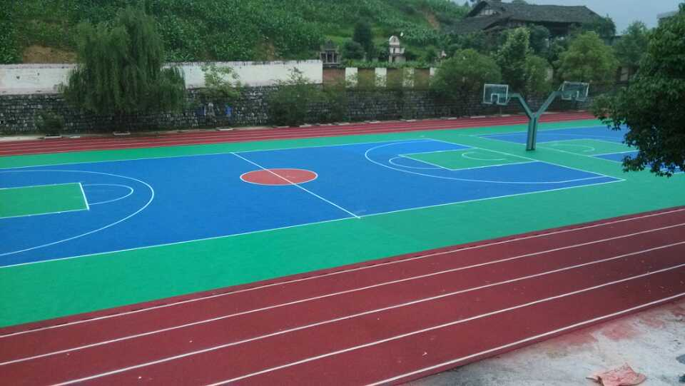 篮球场施工公司-河南篮球场施工公司推荐
